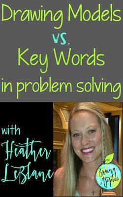 Drawing Models vs. Key Words in Problem Solving